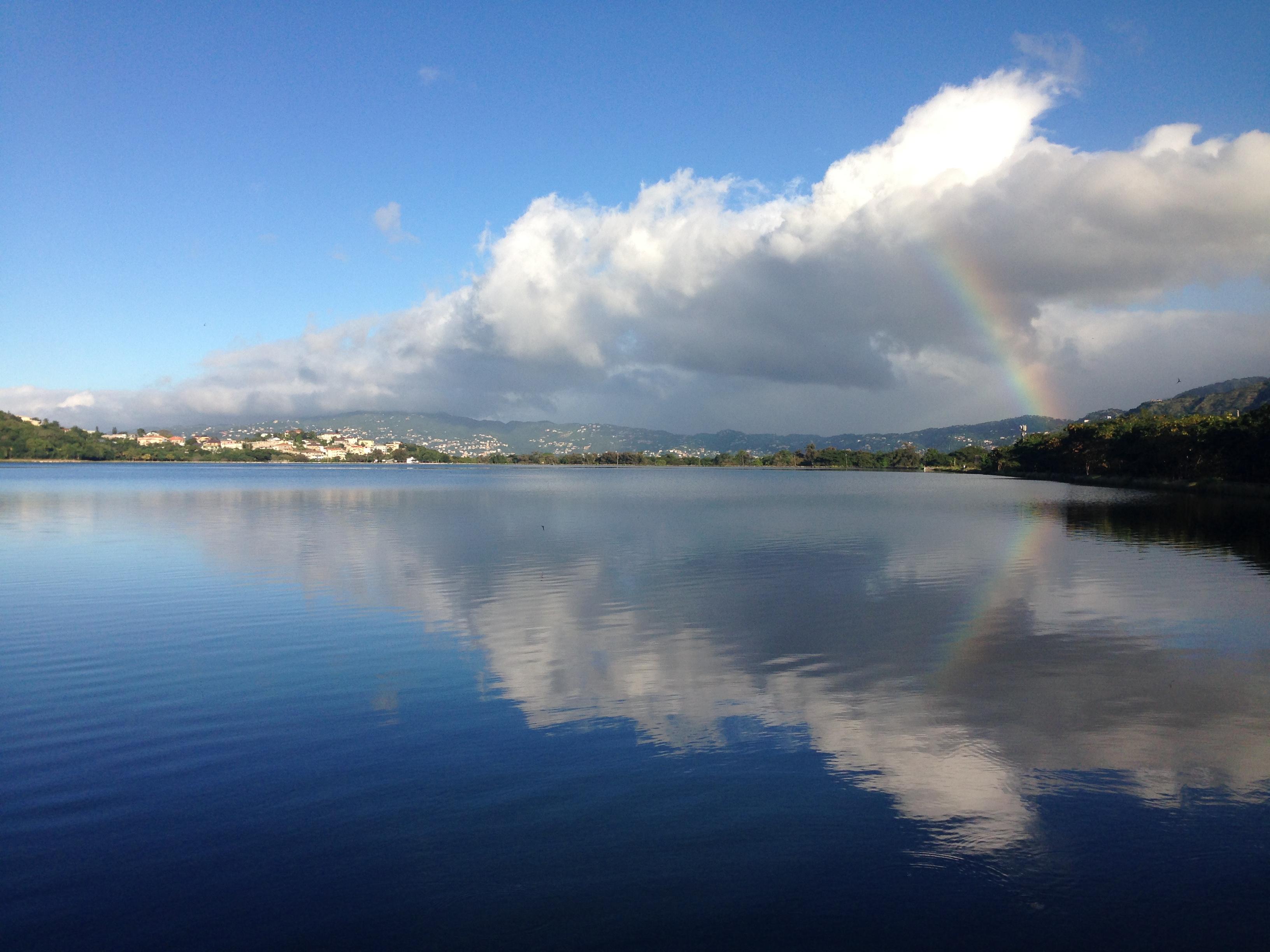 a favourite coaching walk - the dam