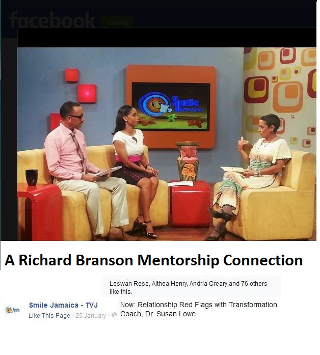 On TV - a Branson Mentorship Gig