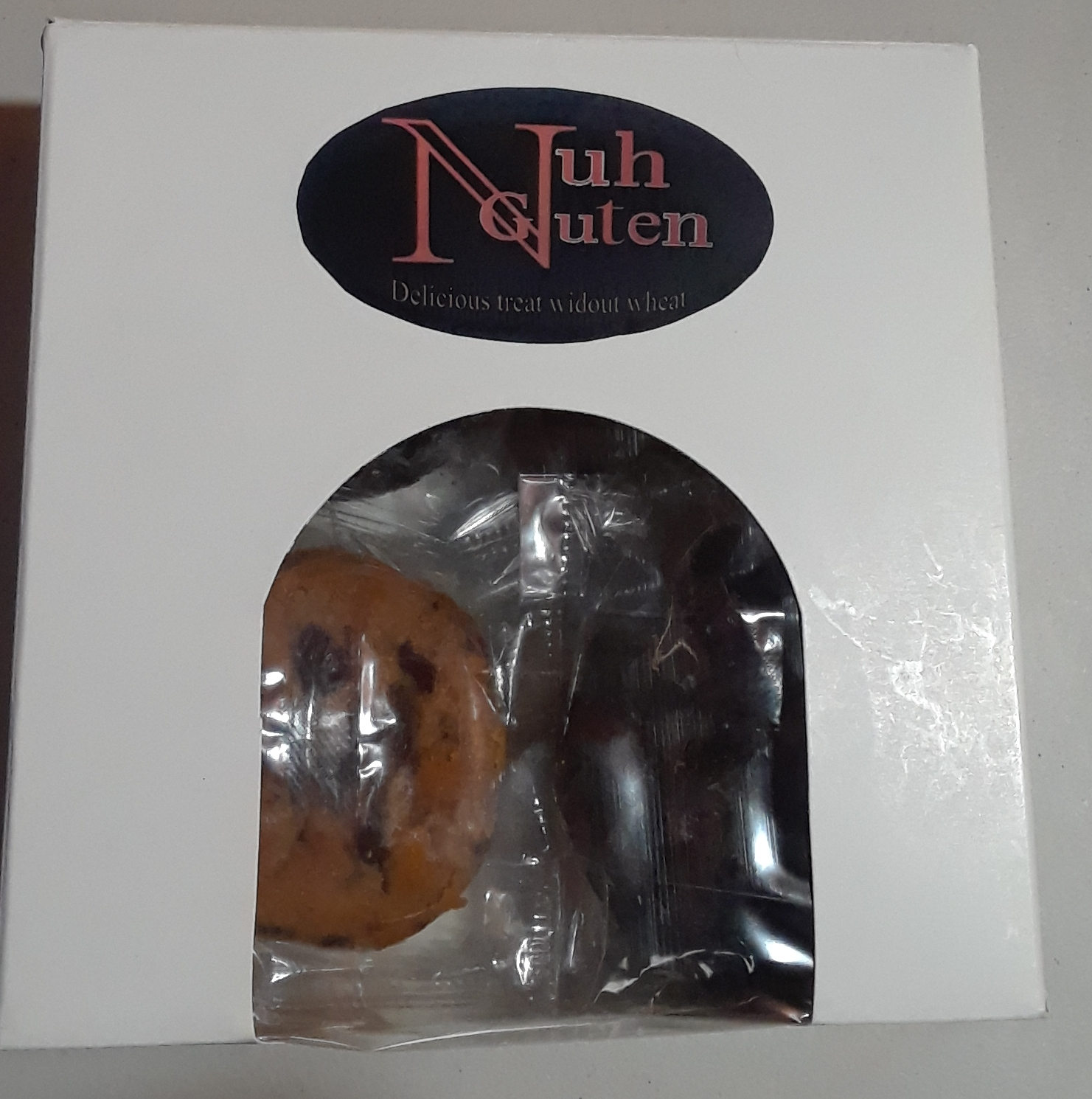 Gluten free variety pack. Consist of 4 mini cakes from the above list of cakes..