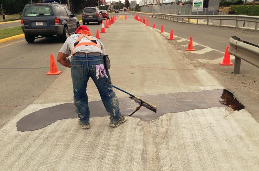 Impermeabilización de puentes en carreteras