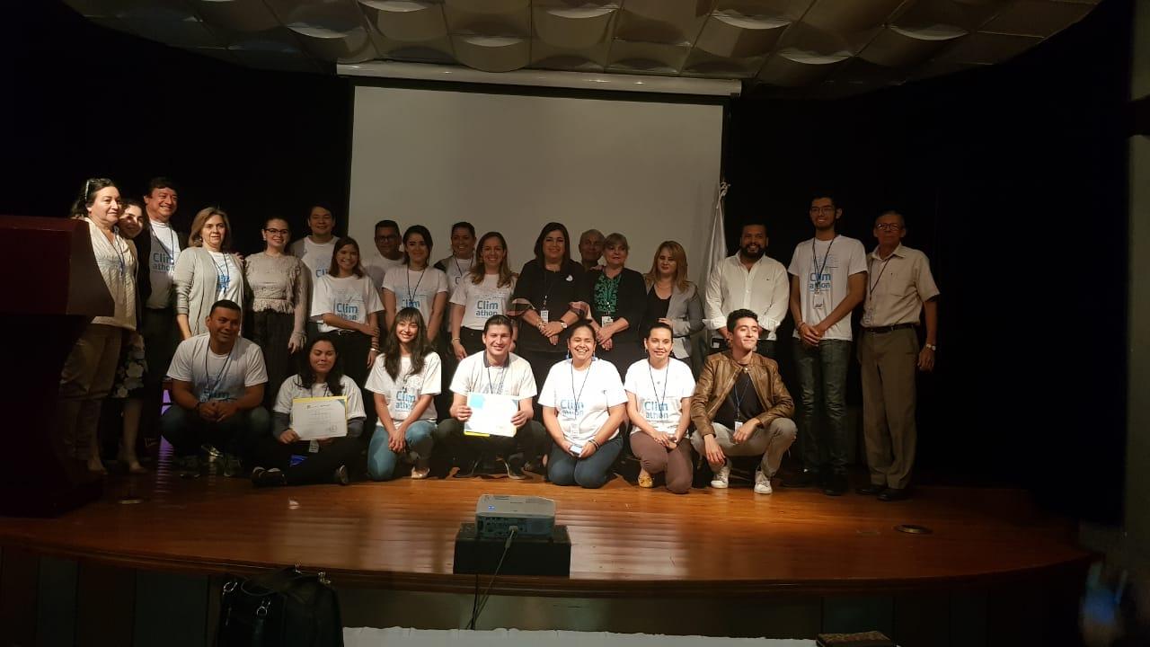 Climathon en Tegucigalpa, desarrollado por Impact Hub Tegucigalpa. Evento en el cual obtuvimos el primer lugar.