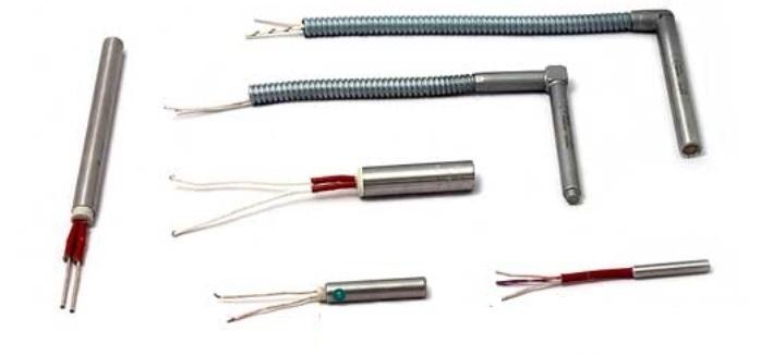 Resistencias electricas de cartucho para calentar bloques metálicos o para selladoras de plasticos