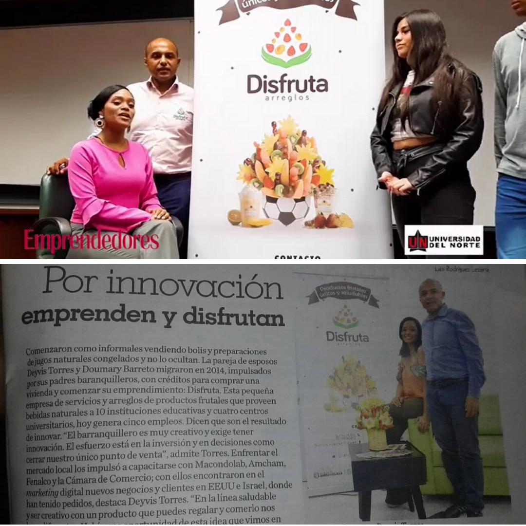 Entrevista estudiantes Universidad del Norte y la Revista +Negocio del Heraldo
