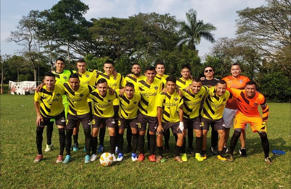 Apoyamos el deporte. Este es nuestro equipo Alianza Villareal-Picadelis que participa en la Copa Mario Marín.
