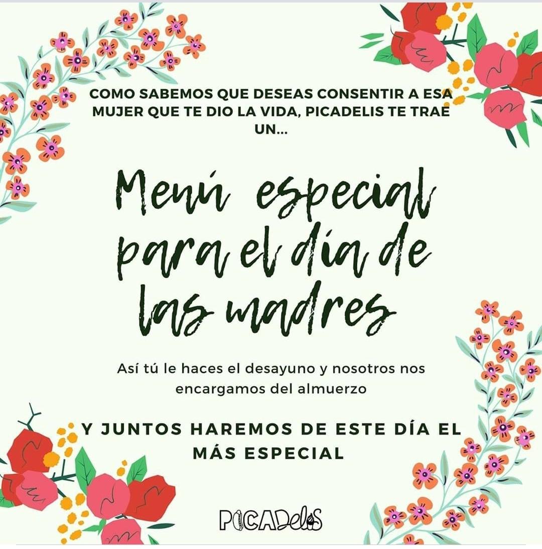 Celebraremos el Día de las Madres con dos menús especiales, sorteos y descuentos.