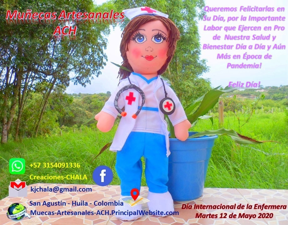 Martes 12 de Mayo Día Internacional de la Enfermera 2020!