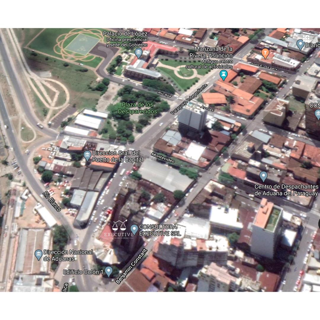 Oficina en Asunción, ubicada en el Edificio Colón 1, Torre 1, Piso 1 H. Barrio La Encarnación.