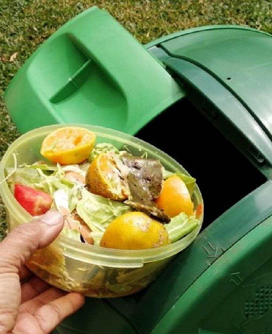 Se puede procesar cualquier tipo de residuo de comida.