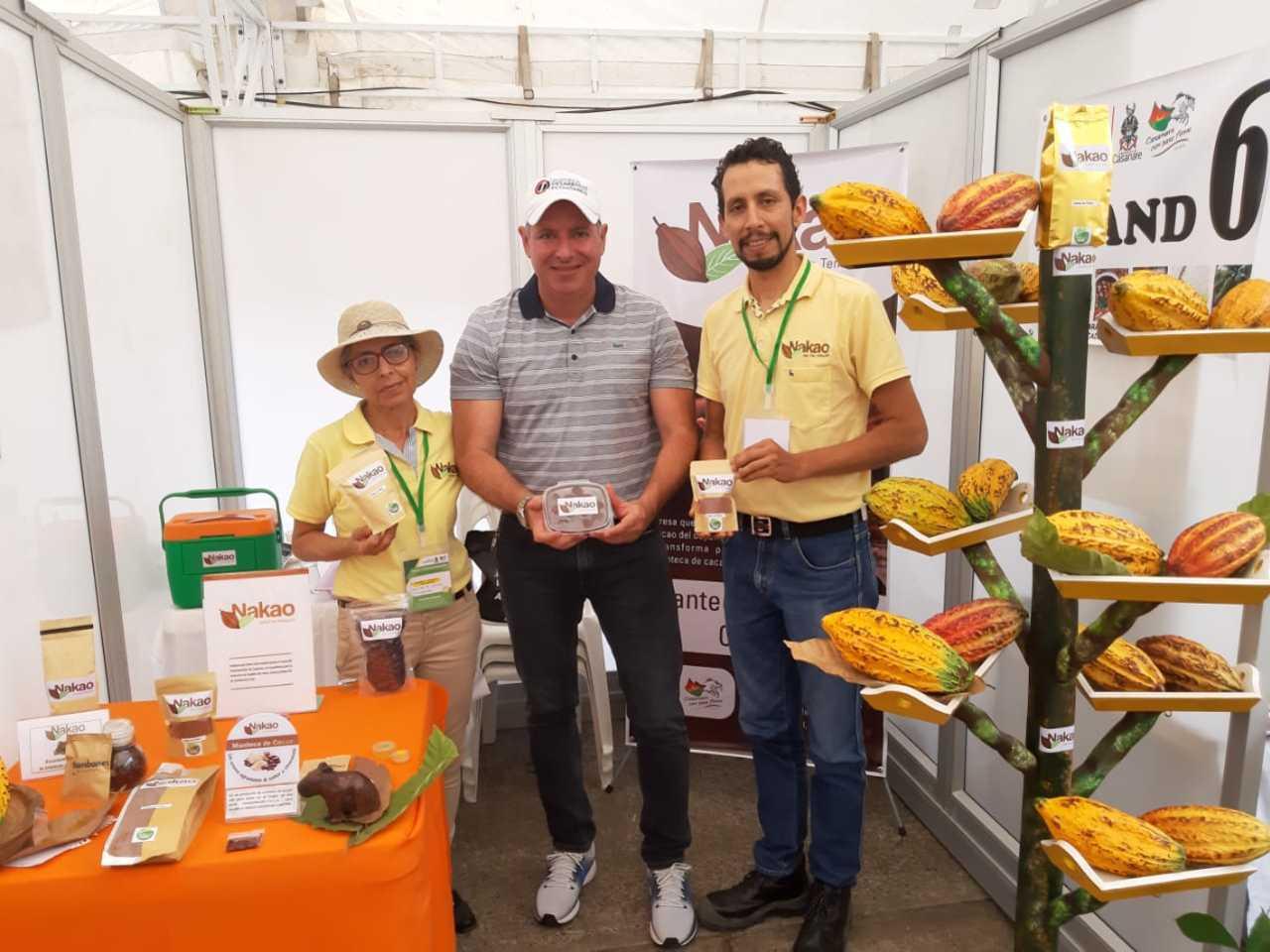Feria Cacaotera en Yopal - Casanare Nakao Chocolate. 2019