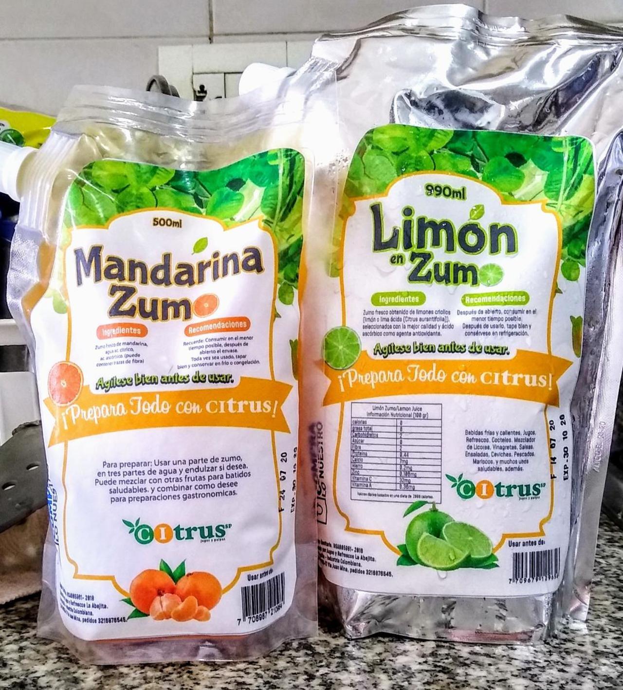 Crece la familia Citrus con el zumo de Mandarina, fuente deliciosa y natural de vitamina C.