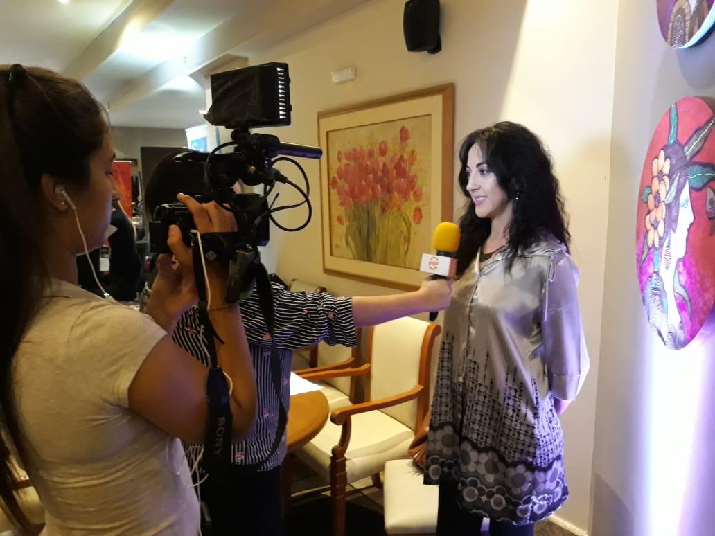 """Entrevista para el Canal Guapa TV sobre la Producción de """"Charla entre Amigas"""""""
