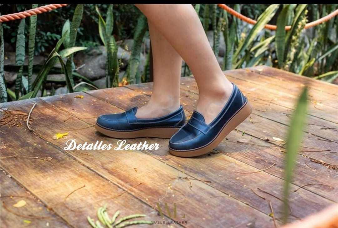 D/äumling Polly Zapatos para Gatear de Cuero beb/é